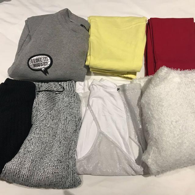 Clothing bundle 7 pieces