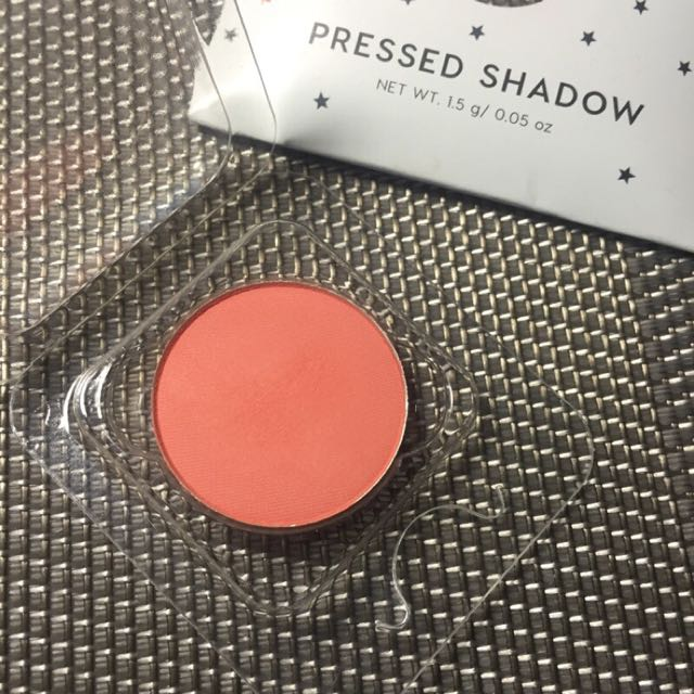 Colourpop pressed shadow wait for it 粉橘 眼影 美國 彩妝 Colour pop