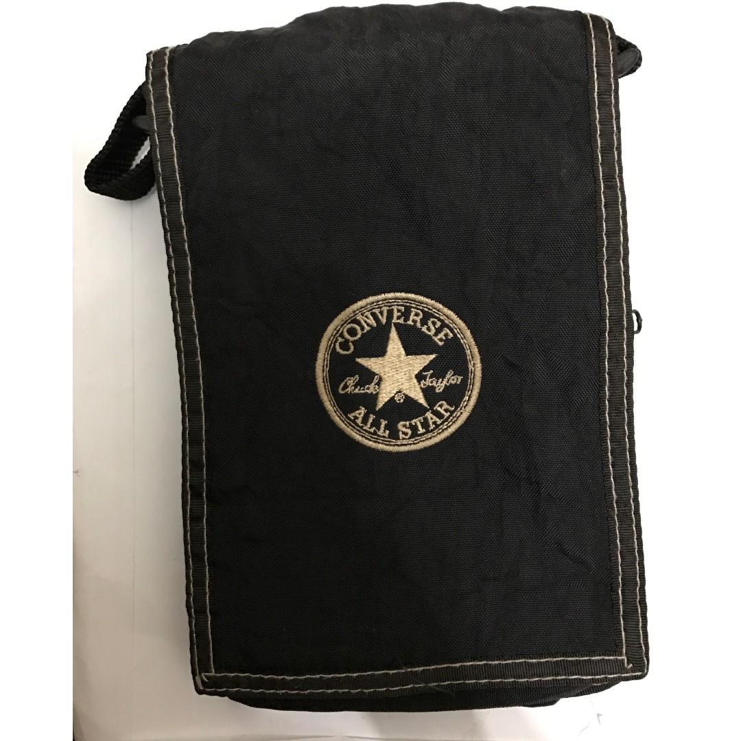 f76c8542a8 Converse  Black Sling Bag