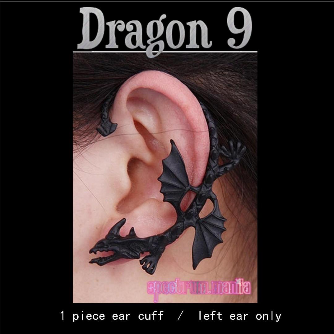 Dragon 9 Earcuff Earclip Earwrap Earclimber
