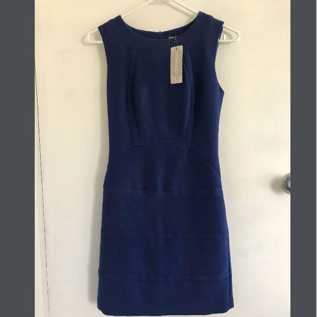 FORCAST Stella Panel Dress - Size 4 (XXS) RRP $79.95