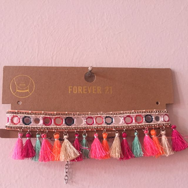 [Forever 21] All Citrus Choker