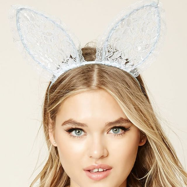 Forever 21 Bunny Ears Head Band