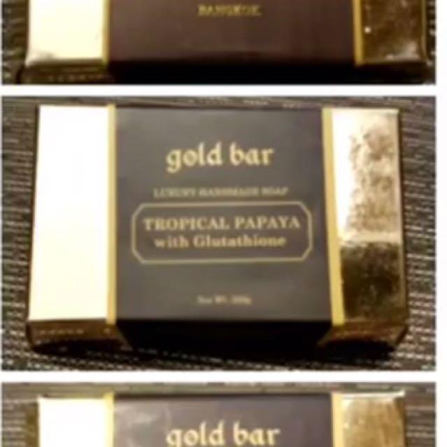 Gold Bar Soap