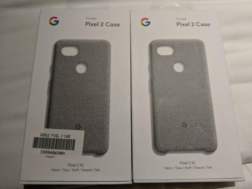 save off ad425 4f13e Google Pixel 2 XL Fabric Case (Cement color)