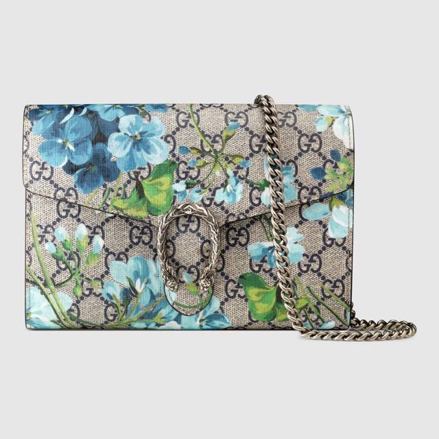 GUCCI Dionysus Blooms print mini chain bag