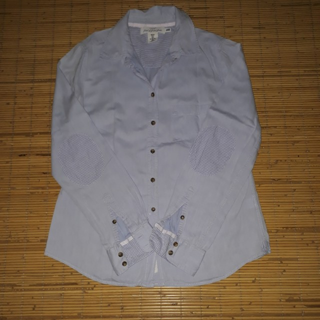 H & M L.O.G.G shirt Blue Soft