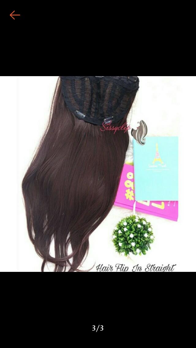 Hairflip Sissy Clip