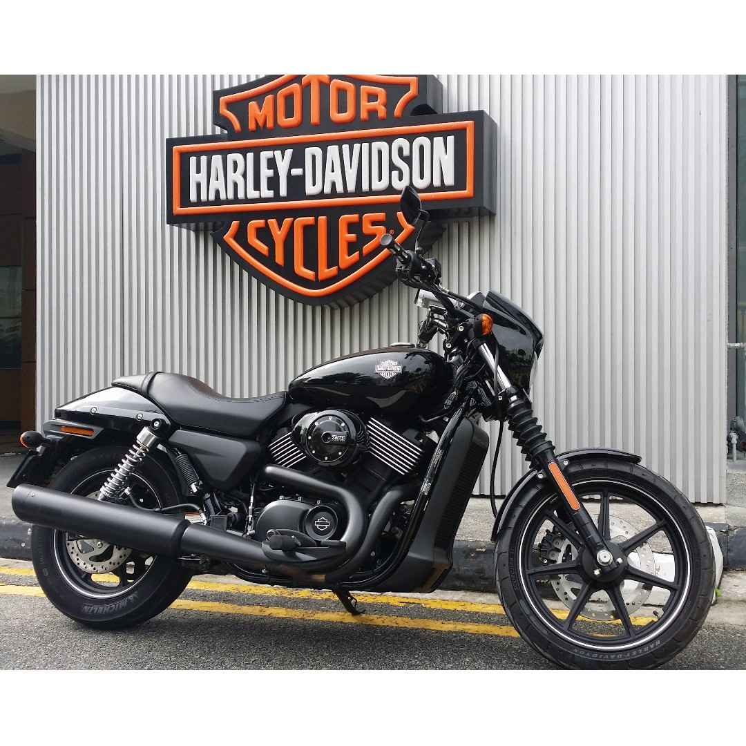 Harley Davidson Street 750 Xg750 Motorcycles Motorcycles For Sale Class 2 On Carousell