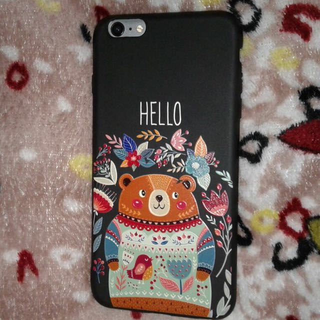 Hello Bear Case for iPhone 6+/6S+