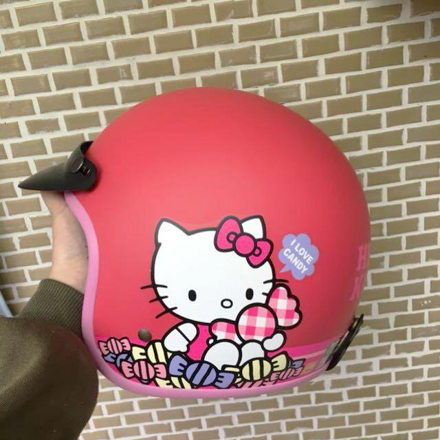 Hello kitty安全帽⛑️