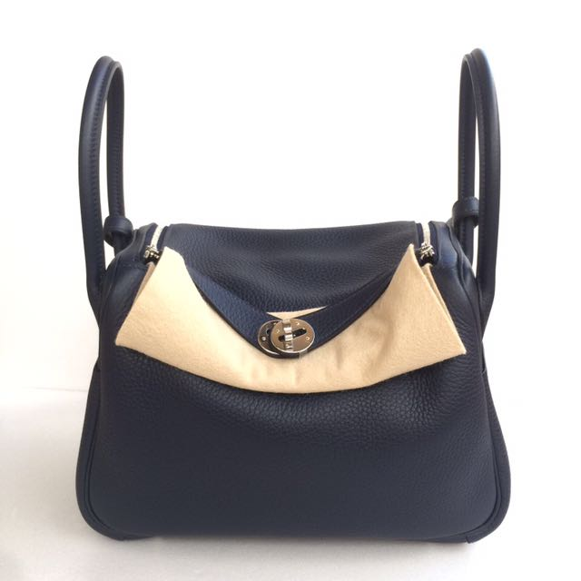 c55710c6231a Hermes - Blue Nuit Lindy 26 with PHW