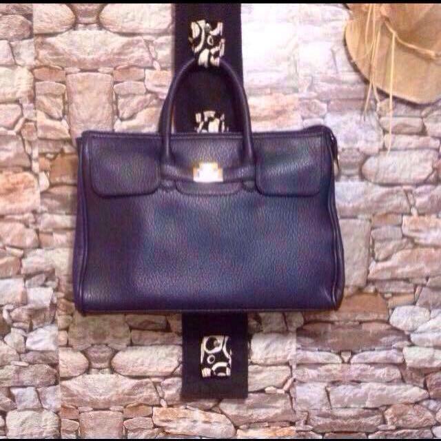 Hermes-Inspired Portfolio Bag/Handbag
