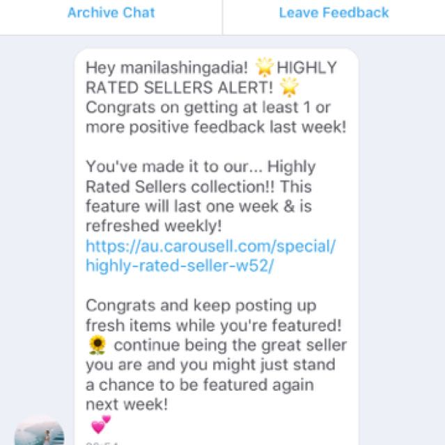 HIGHLY RATED SELLER 🌟