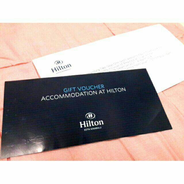 Hilton Hotel (2D1N) Gift Voucher #NYB50, Tickets & Vouchers, Gift Cards & Vouchers on Carousell