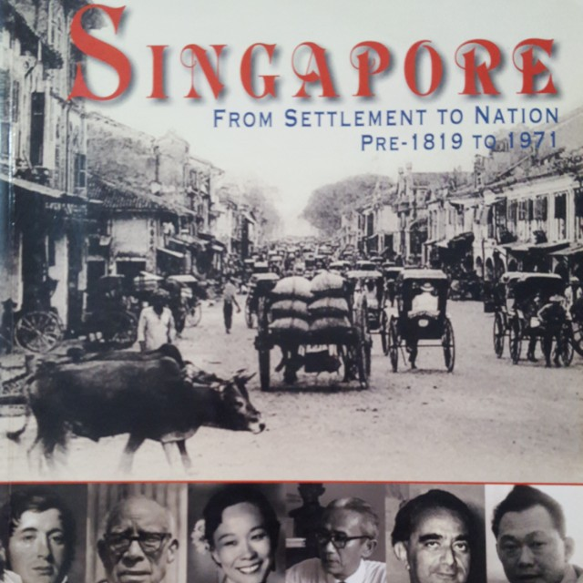 singapore from settlement to nation