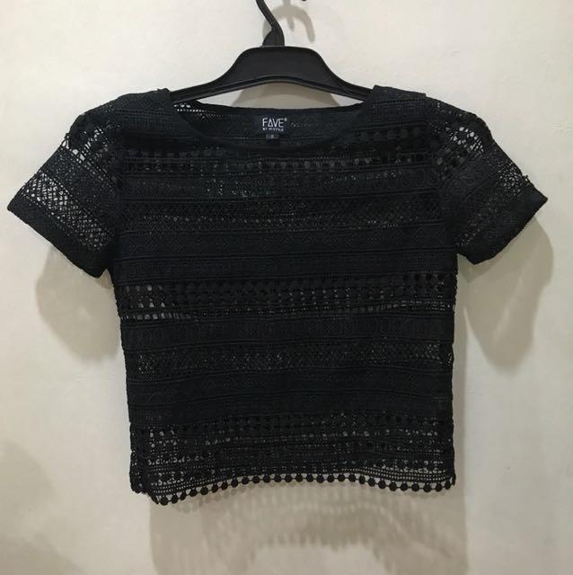 Histyle crochet Top