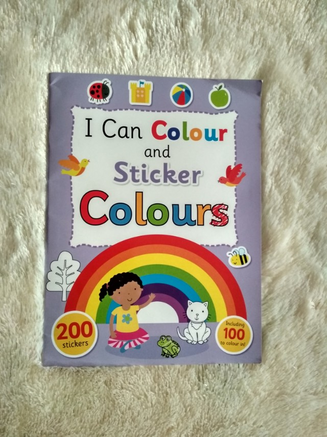 I Can Colour and Sticker Colours