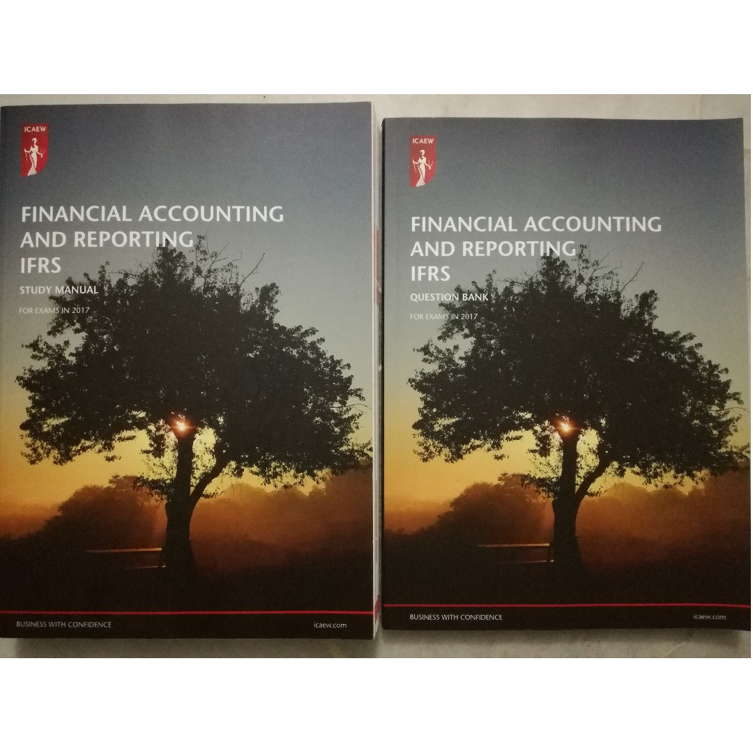 icaew aca far financial accounting and reporting ifrs study manual rh my carousell com Accountign Manual Ho to Manual