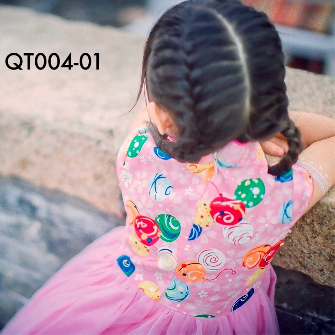 ✩Instock✩ Balloon Theme Cheongsam Tutu Dress - QT