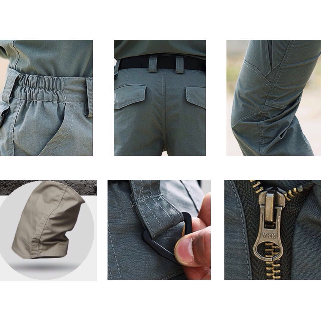 INSTOCK Men - Front Pockets Tactical / Cargo Pants