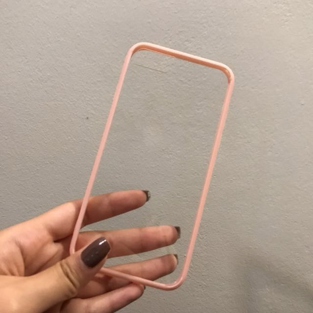 ip7 pink bumper case