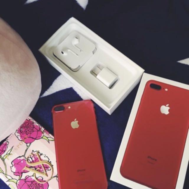 全新iphone7紅色128G