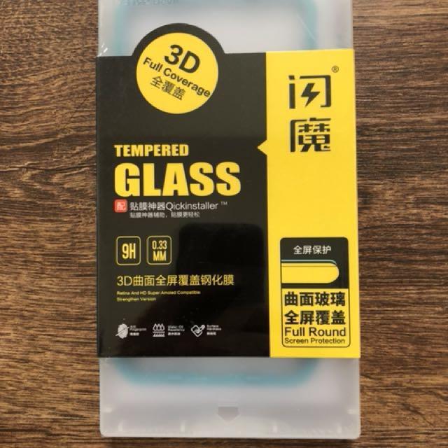iPhone8 Plus 9H全玻璃3D保護貼