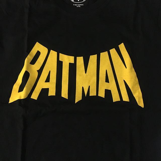 KAOS DC COMICS SUPERHERO BATMAN LOGO, Preloved Fesyen Pria, Pakaian di Carousell