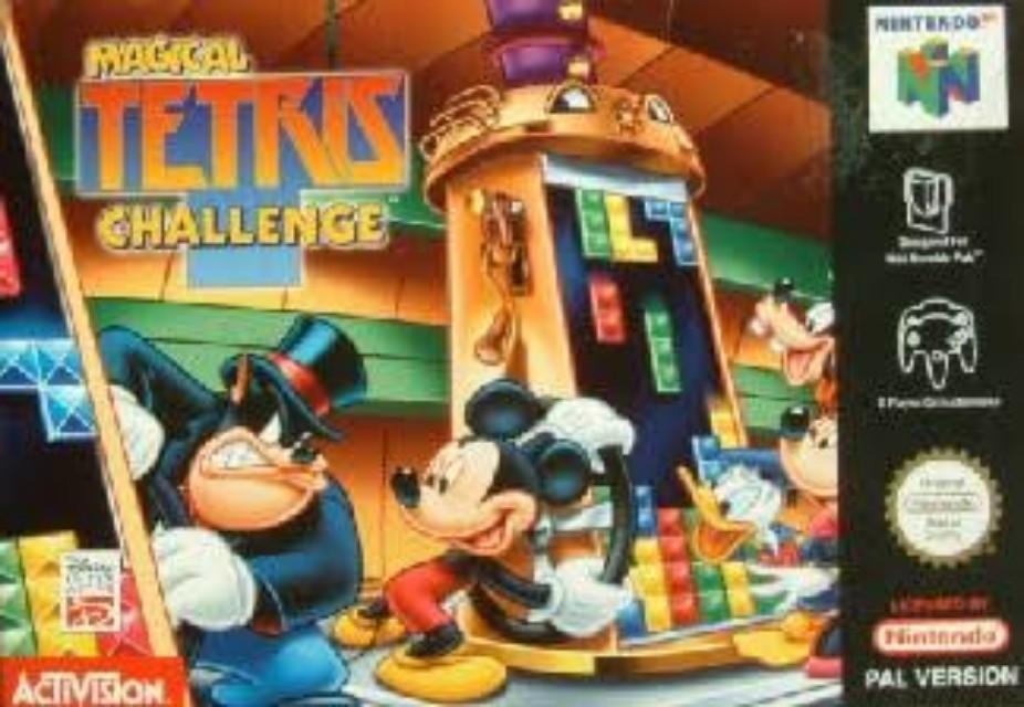 Kaset Playstation One PS 1 Disney Magical Tetris