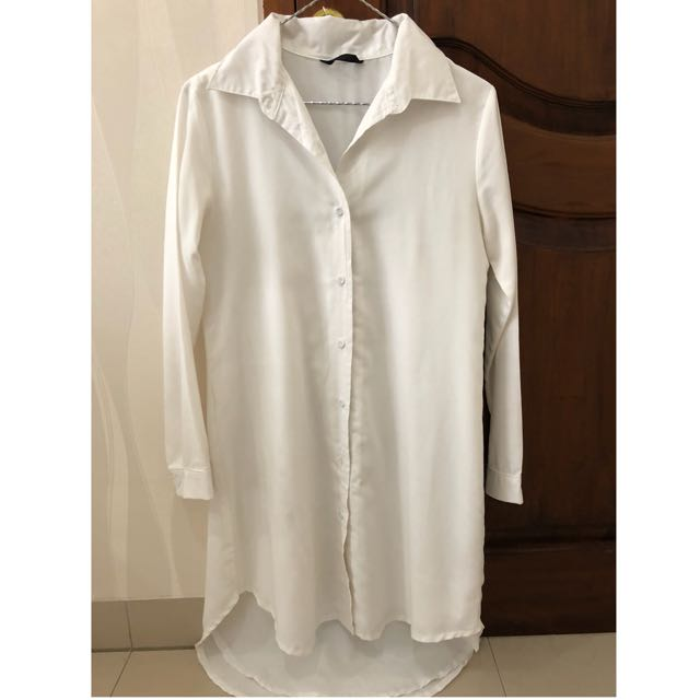 Kemeja Dress Putih