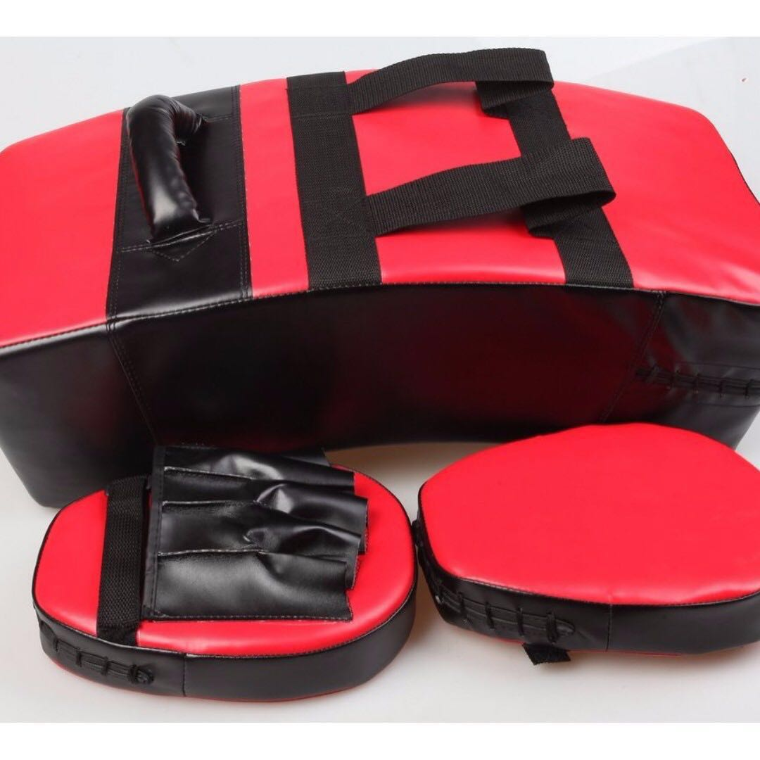 Kickboxing Punching Pad & Mitts Combo