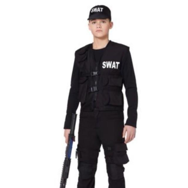 Kids XL Swat costume.