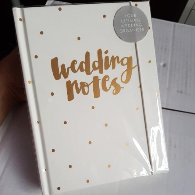 Kikki.k wedding notes
