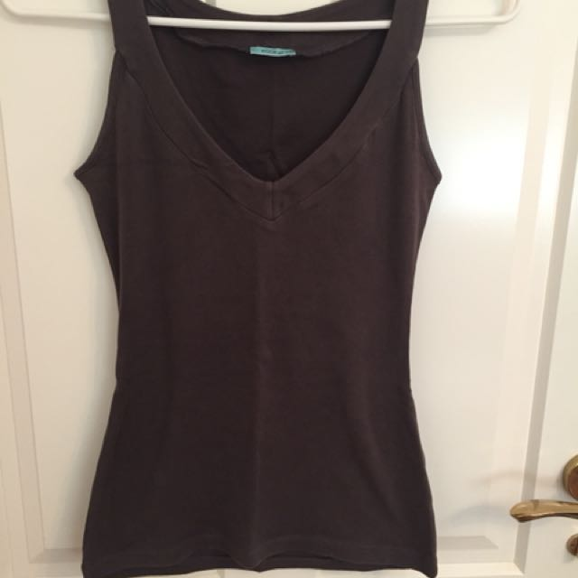 Kookai Brown Tank Top Size 1