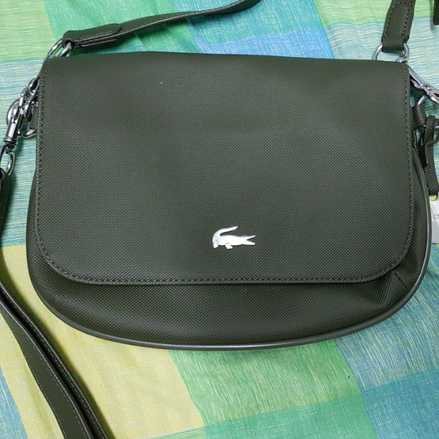 a8b0156115 Lacoste sling bag Original, Women's Fashion, Bags & Wallets on Carousell
