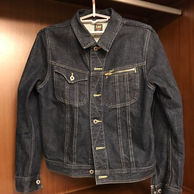 LEE 101+ 男 刺繡 牛仔外套