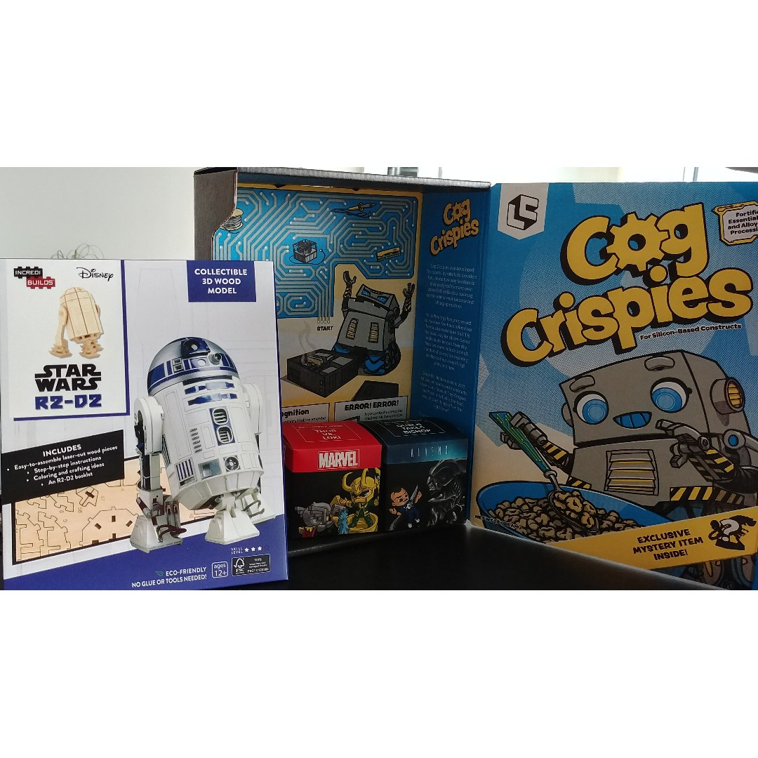 Limited edition Star wars loot crate box