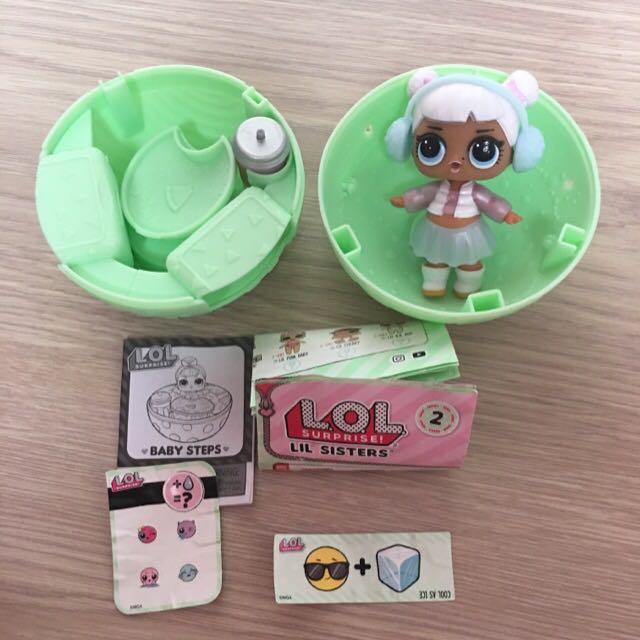 Lol Surprise Doll Series 2 Snow Angel Toys Games Bricks Figurines On Carousell