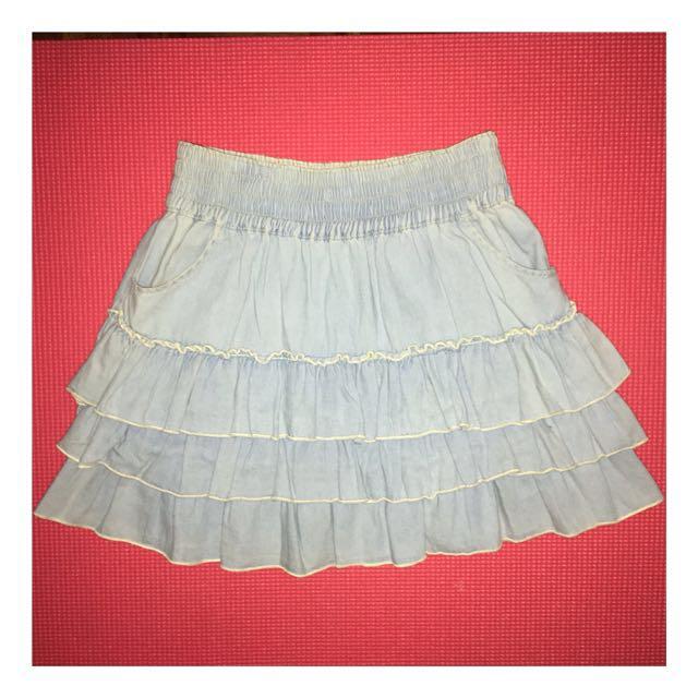 Maong vintage skirt