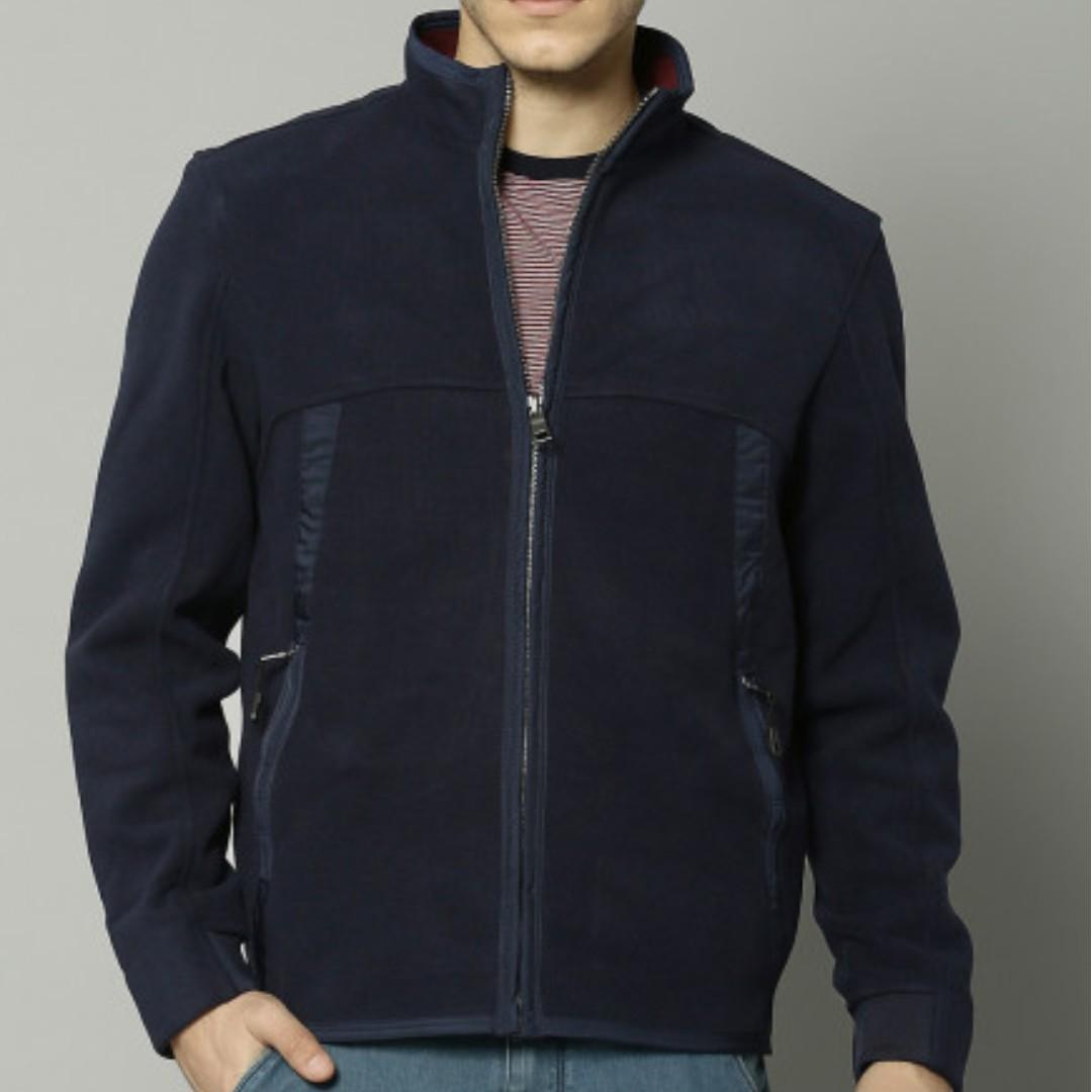 Marks & Spencer 高質感外絨內刷毛輕量休閒保暖男外套