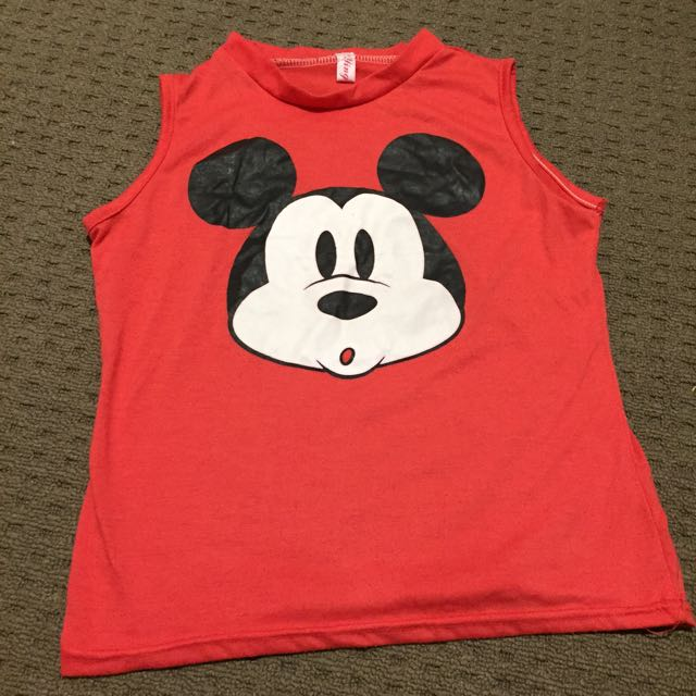 Mickey Mouse Red Top