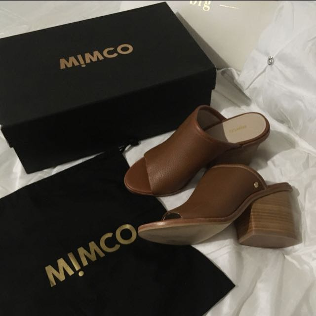 Mimco Mules RRP $229