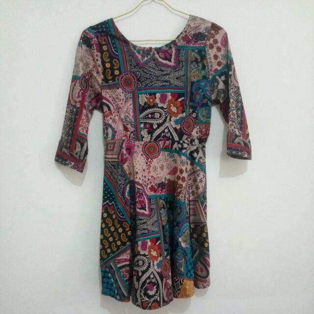 Minidress Batik