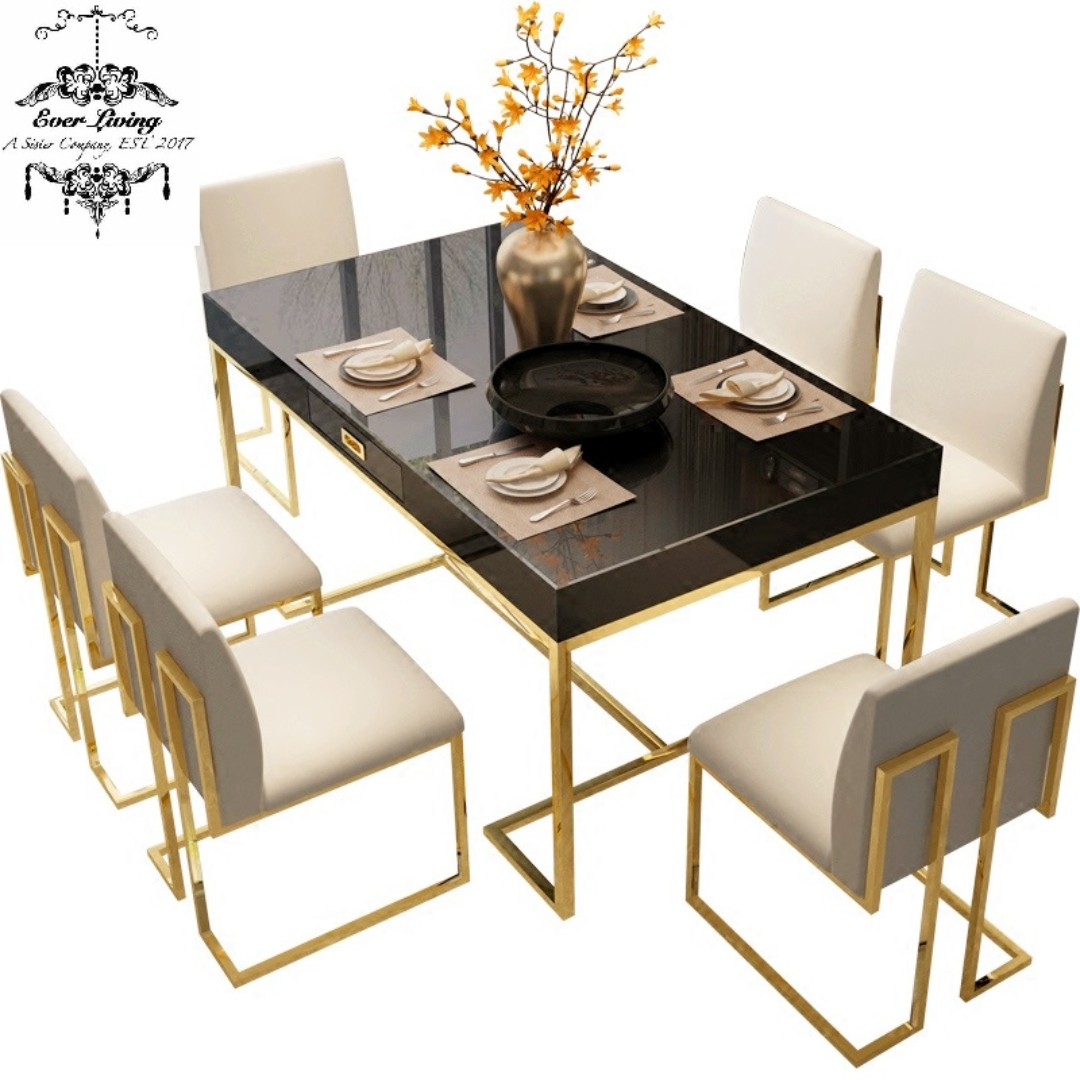 Fantastic Modern Luxury L Dining Table Furniture Tables Chairs On Forskolin Free Trial Chair Design Images Forskolin Free Trialorg
