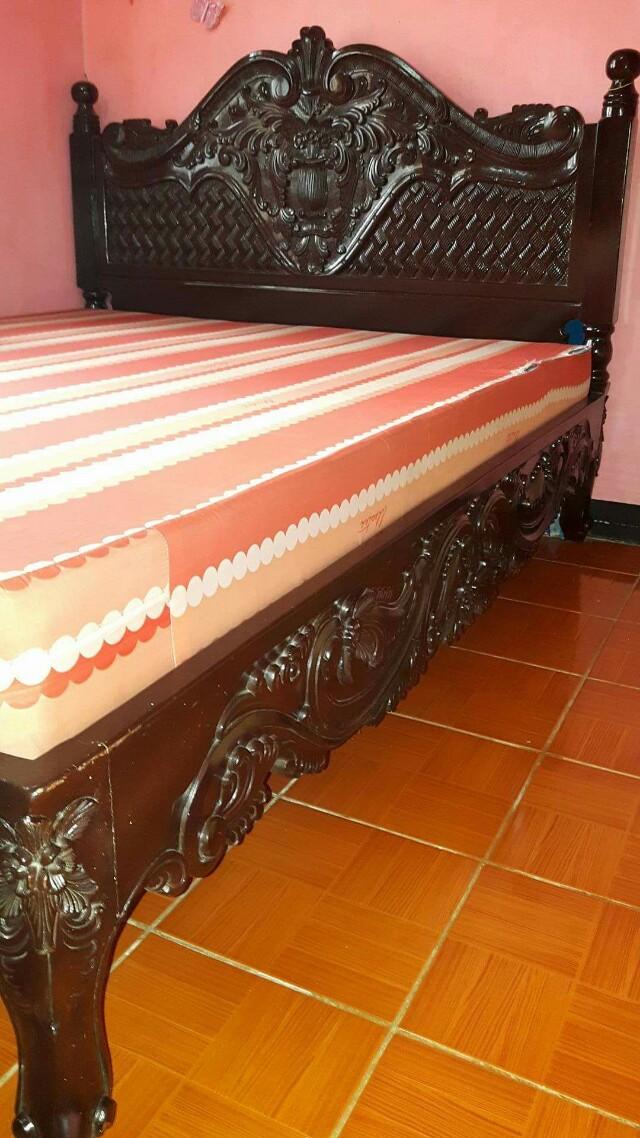 Narra bed frame (king size)