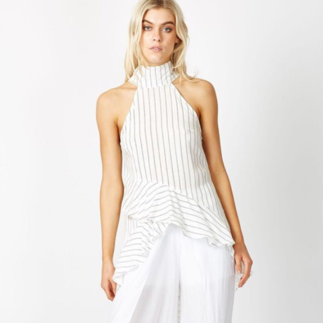 New high neck endless essence top by times ten