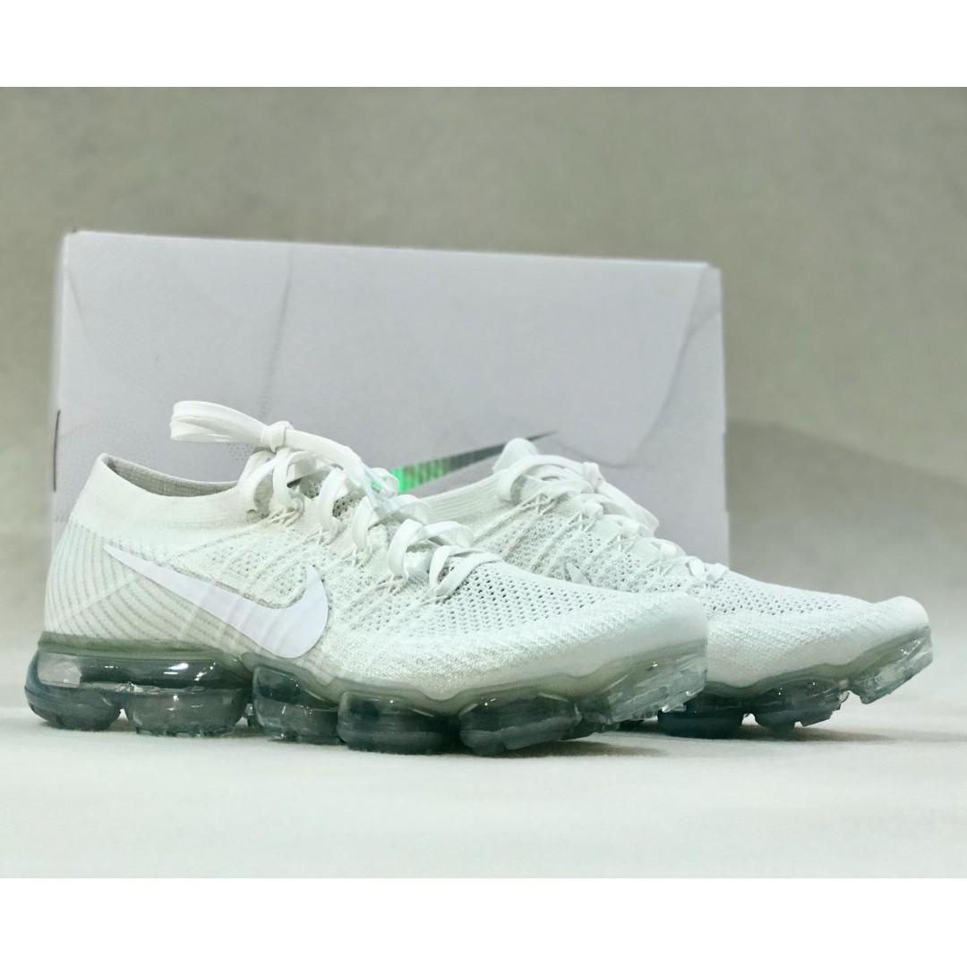 promo code 18e2e e16c6 Nike Air VaporMax Flyknit Triple White