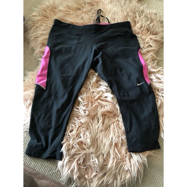 Nike DRI Fit tights size large