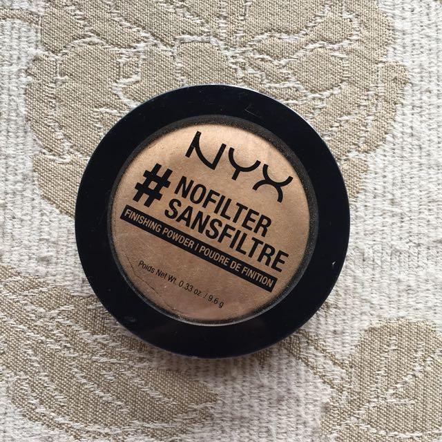 NYX No Filter Finishing Powder